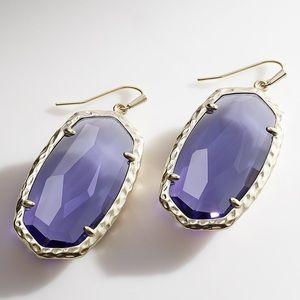 NWT Ella Iolite Drop Earrings